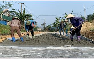 Văn Yên nỗ lực xây dựng nông thôn mới