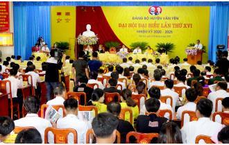 Phiên trù bị Đại hội đại biểu Đảng bộ huyện Văn Yên lần thứ XVI, nhiệm kỳ 2020 - 2025