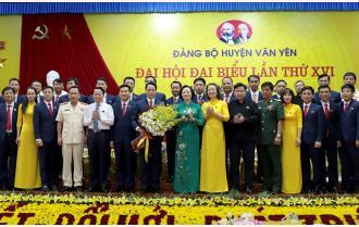 Đại hội đại biểu Đảng bộ huyện Văn Yên lần thứ XVI, nhiệm kỳ 2020 - 2025 thành công tốt đẹp