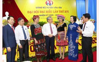 Khai mạc Đại hội đại biểu Đảng bộ huyện Văn Yên lần thứ XVI, nhiệm kỳ 2020 - 2025