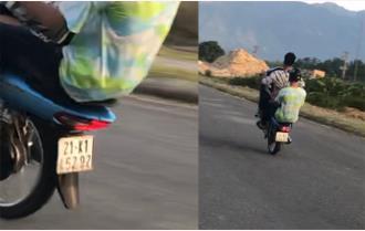 Nghĩa Lộ xử lý thanh niên bốc đầu xe mô tô