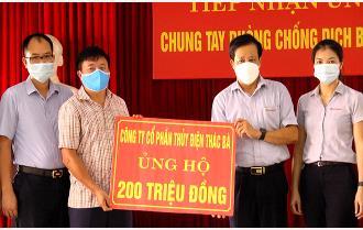 Ngày 3/6: Yên Bái tiếp nhận 290 triệu đồng chung tay phòng, chống COVID-19