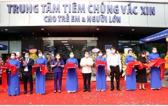 Khai trương Trung tâm tiêm chủng VNVC Yên Bái