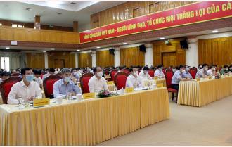 Yên Bái dự Hội nghị trực tuyến toàn quốc sơ kết 5 năm thực hiện Chỉ thị 05 của Bộ Chính trị