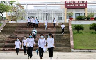 Kết thúc kỳ thi tuyển sinh vào Trường THPT Chuyên Nguyễn Tất Thành