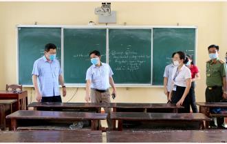 Yên Bái: Trên 8.100 thí sinh chuẩn bị bước vào Kỳ thi tốt nghiệp THPT năm 2021