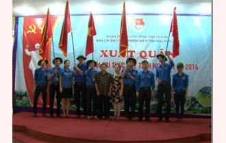 Yên Bái: Xuất quân 5đội trí thức trẻ tình nguyện hè 2014