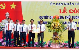 Công bố Quyết định của Thủ tướng Chính phủ công nhận thành phố Yên Bái hoàn thành nhiệm vụ xây dựng nông thôn mới năm 2019