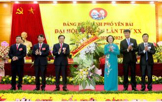 Khai mạc Đại hội đại biểu Đảng bộ thành phố Yên Bái lần thứ XX, nhiệm kỳ 2020 – 2025