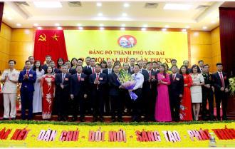 Đại hội đại biểu Đảng bộ thành phố Yên Bái lần thứ XX: 24 chỉ tiêu chủ yếu, 3 khâu đột phá và 5 chương trình trọng điểm