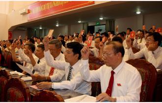 Đại hội đại biểu Đảng bộ thị xã Nghĩa Lộ lần thứ XIV: 21 chỉ tiêu cụ thể, 3 đột phá, 6 chương trình trọng điểm