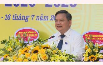 Phát biểu của Phó Bí thư Thường trực Tỉnh ủy Dương Văn Thống chỉ đạo Đại hội đại biểu Đảng bộ huyện Trấn Yên lần thứ XXII