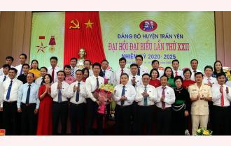 Bế mạc Đại hội đại biểu Đảng bộ huyện Trấn Yên lần thứ XXII: Phấn đấu xây dựng Trấn Yên thành huyện nông thôn mới kiểu mẫu