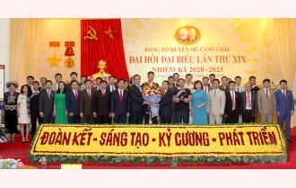 Bế mạc Đại hội đại biểu Đảng bộ huyện Mù Cang Chải lần thứ XIX: Quyết tâm xây dựng huyện Mù Cang Chải trở thành huyện du lịch