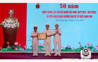 Kỷ niệm 50 năm Ngày thành lập Báo Hải quân Việt Nam và đón nhận Huân chương Bảo vệ Tổ quốc hạng Nhì