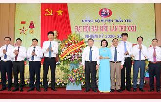 Khai mạc Đại hội đại biểu Đảng bộ huyện Trấn Yên lần thứ XXII