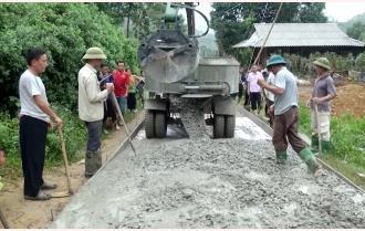 Trấn Yên: Giao thông nông thôn tạo đà phát triển