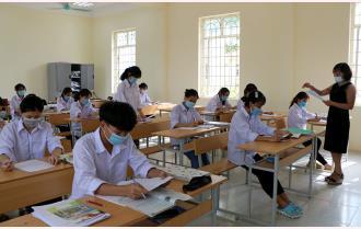 Yên Bái: Nỗ lực đảm bảo an toàn kỳ thi tốt nghiệp THPT năm 2021