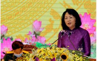 Phát biểu của Phó Chủ tịch nước Đặng Thị Ngọc Thịnh tại Đại hội thi đua yêu nước tỉnh Yên Bái lần thứ X