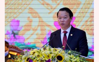 Phát động thi đua của Chủ tịch UBND tỉnh Đỗ Đức Duy tại Đại hội Thi đua yêu nước tỉnh Yên Bái lần thứ X