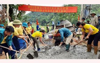 """Thi đua - sức bật """"xây"""" nông thôn mới Yên Bái"""