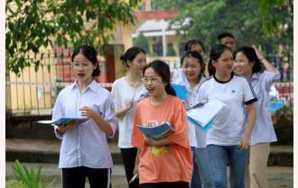 Yên Bái: 28 điểm 10, hơn 1.630 điểm 9 trở lên Kỳ thi tốt nghiệp trung học phổ thông năm 2020