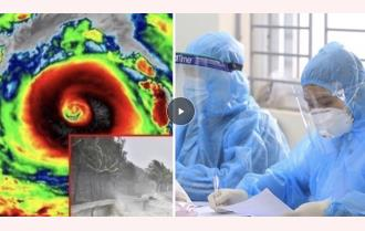 Chuẩn bị những đồ dùng gì nếu bão kéo đến khi dịch bệnh COVID-19 phức tạp?