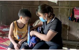 Văn Yên: Linh hoạt hỗ trợ học sinh không được hưởng chế độ bán trú
