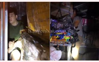 Trấn Yên: Phát hiện liên tiếp 2 vụ người trốn trong xe tải vào địa bàn tỉnh Yên Bái