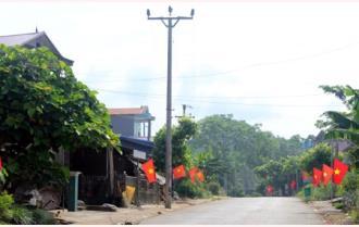 Đổi mới trên quê nông thôn mới Tân Đồng