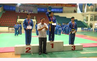 Bế mạc Giải võ Karatedo - võ Vovinam Đại hội Thể dục thể thao tỉnh Yên Bái lần thứ VIII