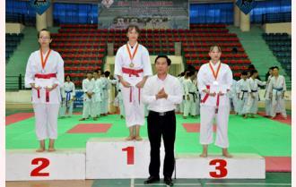 Bế mạc Giải võ Karatedo Đại hội thể dục thể thao tỉnh Yên Bái lần thứ VIII