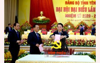 48 đồng chí trúng cử Ban Chấp hành Đảng bộ tỉnh Yên Bái khóa XIX, nhiệm kỳ 2020 - 2025