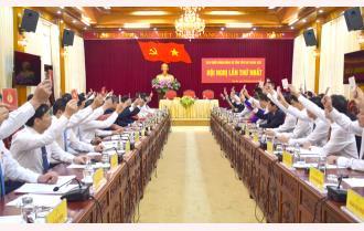 Hội nghị lần thứ nhất Ban Chấp hành Đảng bộ tỉnh Yên Bái khóa XIX, nhiệm kỳ 2020 – 2025