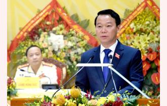 Đồng chí Đỗ Đức Duy - Phó Bí thư Tỉnh ủy khóa XVIII, Chủ tịch UBND tỉnh đắc cử chức Bí thư Tỉnh ủy Yên Bái khóa XIX, nhiệm kỳ 2020 - 2025