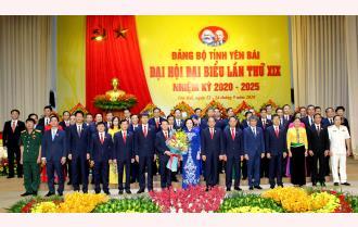 Bế mạc Đại hội XIX Đảng bộ tỉnh Yên Bái: Thông qua 19 chỉ tiêu, 3 đột phá chiến lược, 7 nhiệm vụ trọng tâm nhiệm kỳ 2020 – 2025