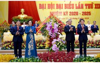 Phát biểu của Thường trực Ban Bí thư Trần Quốc Vượng chỉ đạo Đại hội XIX Đảng bộ tỉnh Yên Bái