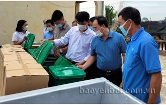 Hội Nông dân Yên Bái triển khai mô hình điểm phân loại rác thải sinh hoạt và xử lý rác thải hữu cơ làm phân bón tại hộ gia đình