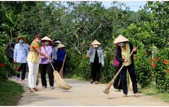 """""""5 không, 3 sạch"""" xây dựng nông thôn mới Yên Bái"""