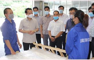 Bí thư Tỉnh ủy Đỗ Đức Duy thăm các mô hình kinh tế và kiểm tra tiến độ công trình dự án tại huyện Lục Yên