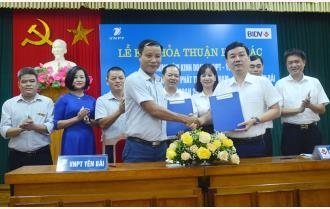 VNPT Yên Bái và BIDV Chi nhánh Yên Bái ký kết thỏa thuận hợp tác toàn diện