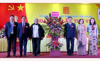 Đại hội Hội Liên hiệp Văn học nghệ thuật tỉnh Yên Bái lần thứ VII: Tiếp tục giữ vai trò là trung tâm đoàn kết tập hợp văn nghệ sĩ