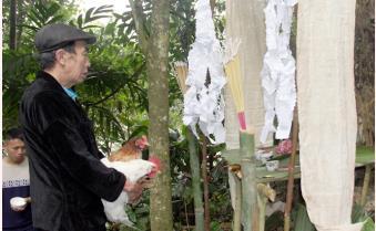 Nà Hẩu (Văn Yên) trang nghiêm Lễ hội Tết rừng năm 2021