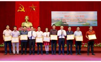 Yên Bình gặp mặt doanh nghiệp năm 2021: Doanh nghiệp, nhà đầu tư ủng hộ các quỹ gần 1,5 tỷ đồng