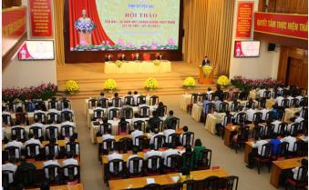 """Hội thảo """"Yên Bái - 30 năm một chặng đường phát triển"""""""