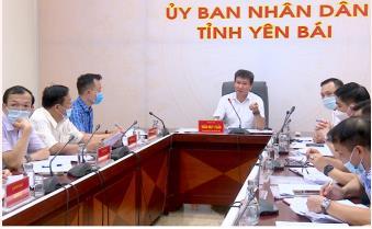 Chủ tịch UBND tỉnh Trần Huy Tuấn làm việc với Ngân hàng Phát triển Châu Á