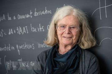 Nhà toán học Karen Uhlenbeck tại Princeton, New Jersey, Mỹ, ngày 18/3/2019.
