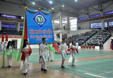 Khai mạc Hội khỏe Phù Đổng tỉnh Yên Bái lần thứ IX.