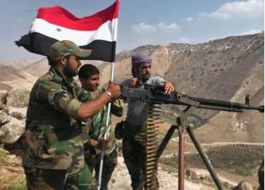 Quân chính phủ Syria.