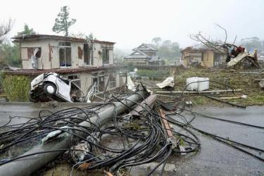 Nhật Bản đang tích cực khắc phục hậu quả do siêu bão Hagibis.